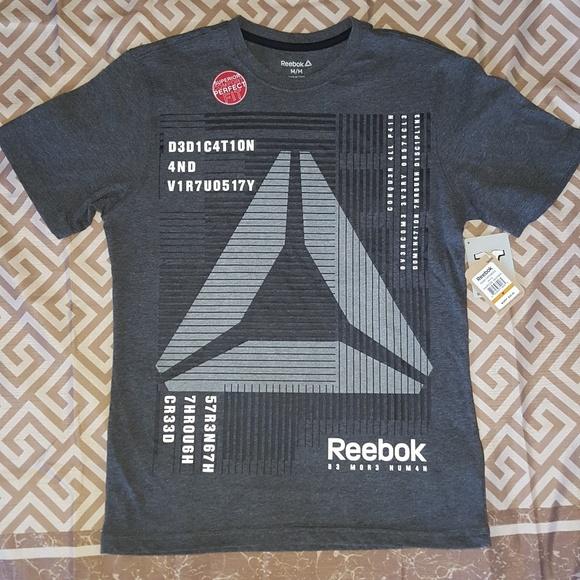 reebok workout t shirt mens